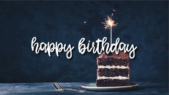 Today's My Birthday
